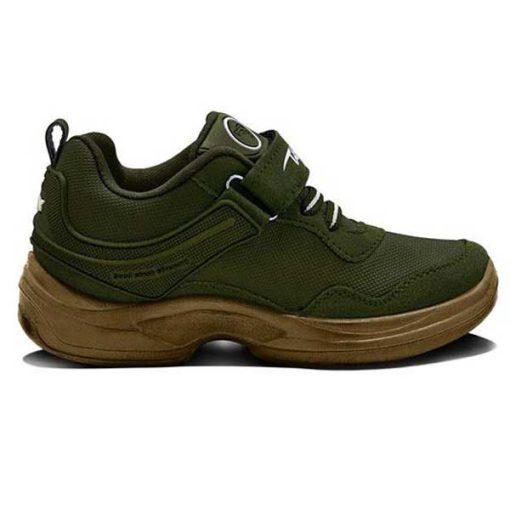 کفش تن تاک بچه گانه زیتونی