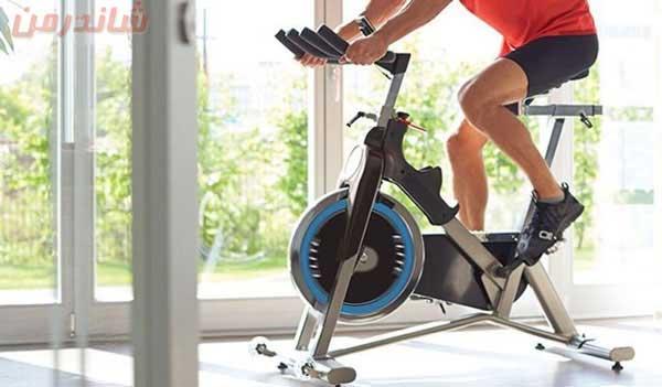 دوچرخه ورزشی ثابت خانگی