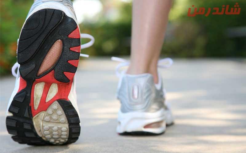کفش مناسب پیاده روی های طولانی