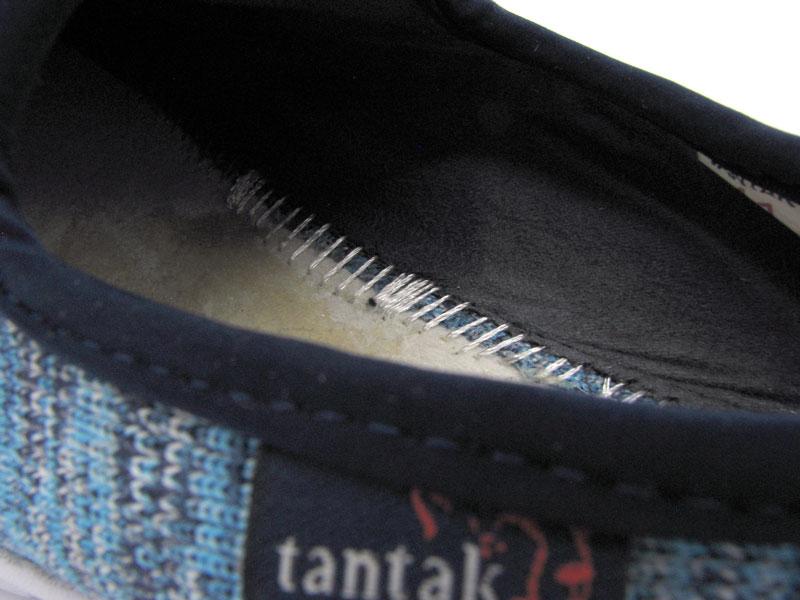 دوخت داخلی کفش تن تاک پاییزه مدل خزر